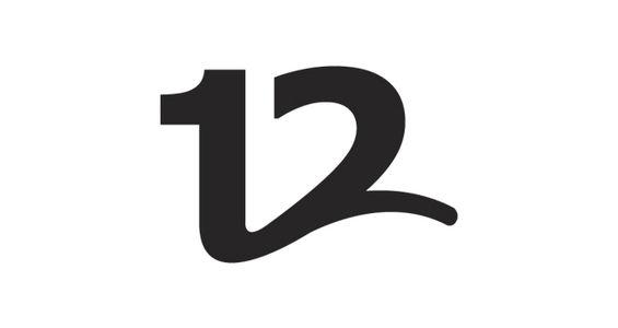 12 (Midnight tv show) - Logos - Creattica
