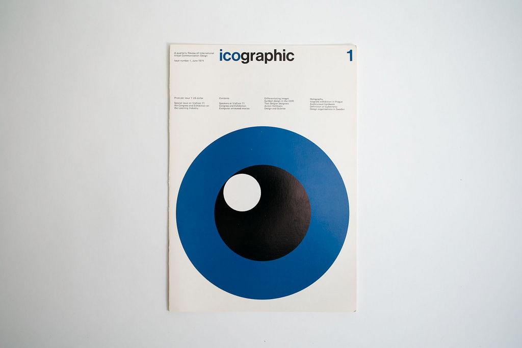 Icographic magazine 1971 – designers books