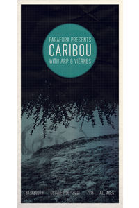 SHOW POSTER CARIBOU, ARP AND VIERNES | The Night Shift : The Blog Of Charles Bergquist