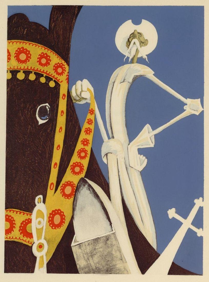 All sizes | 07 Albert Dubout, illus. for L'Ingenieux Hidalgo Don Quichotte de la Manche, 1938 | Flickr - Photo Sharing!