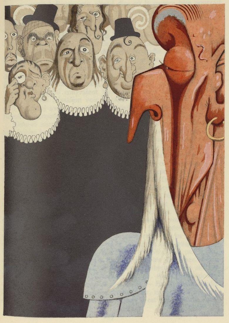 All sizes | 04 Albert Dubout, illus. for L'Ingenieux Hidalgo Don Quichotte de la Manche, 1938 | Flickr - Photo Sharing!