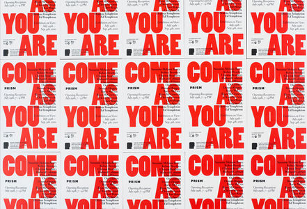 Prism, Come As You Are, Exhibition Collateral on the Behance Network