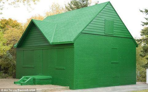 Canadian artist An Te Liu creates Monopoly house as monument to credit crunch  Mail Online