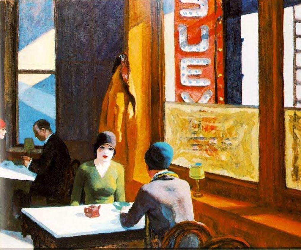 Toutes les tailles | Hopper, Edward (1882-1967) - 1929 Chop Suey | Flickr: partage de photos!