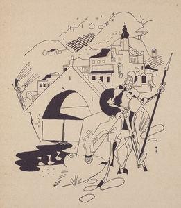 Toutes les tailles  07 Piero Bernardini, illus. for Don Quixote Italy, 1935  Flickr: partage de photos
