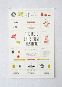 design work life » Stitch Design Co.: Indie Grits Film Festival