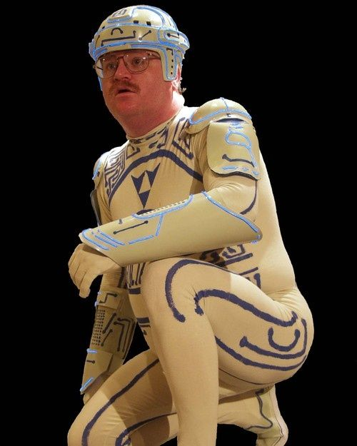 TRON Guy Forbidden From Wearing His Costume in a Movie Theater