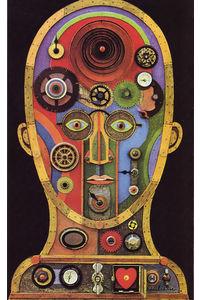 03 Les rouages de la vie mentale, illus. Vin Giuliani, Laboratoires Roche (Le Livre de Sante, v.9, 1967) | Flickr - Photo Sharing!