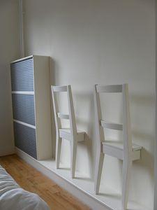 Siete alla ricerca di un modo originale per utilizzare un paio di sedie ikea? Quardatevi questa soluzione - Mauro Caramella