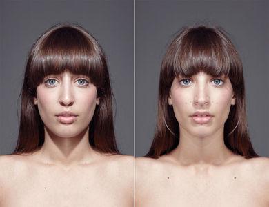 Symmeytrical Portraits — Julian Wolkenstein — Designaside.com