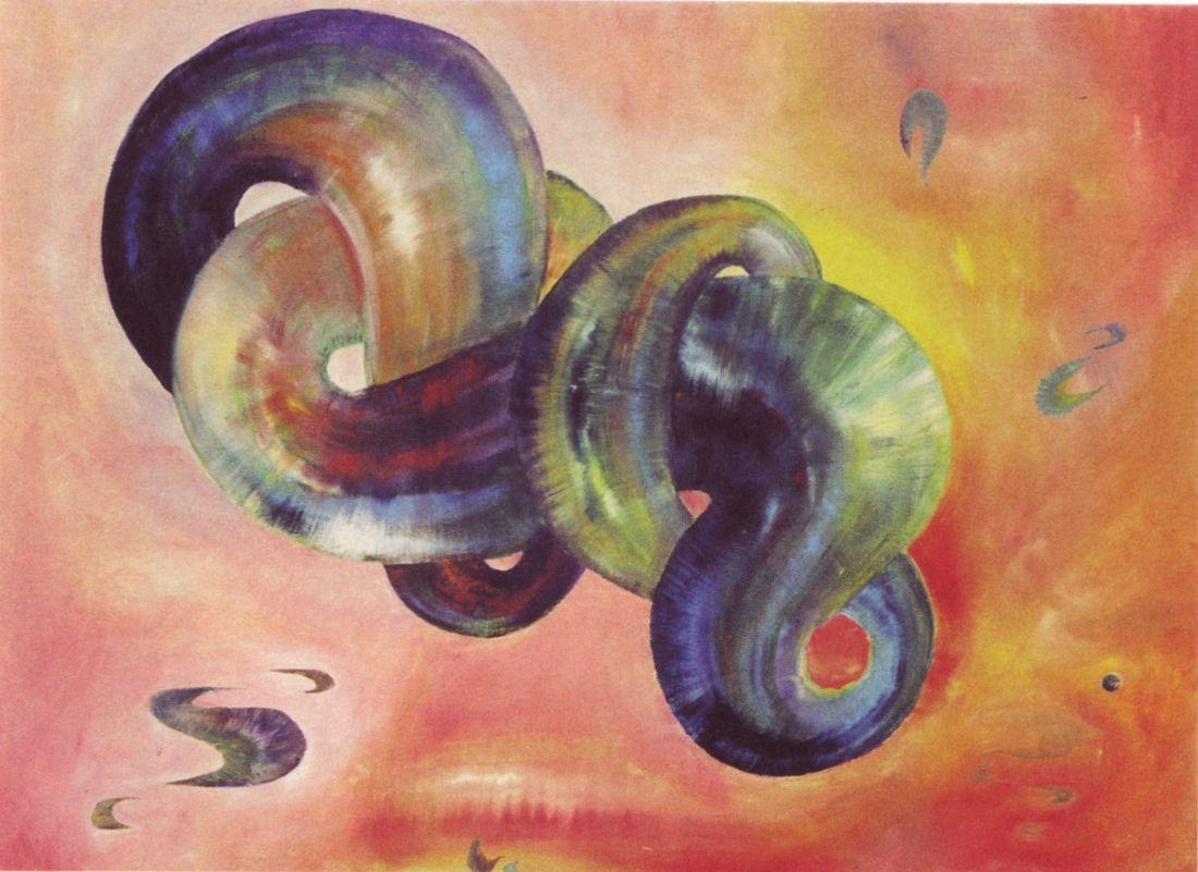 Toutes les tailles | 14 Marcia Blaessle, Die Schlange, welche sich nicht hauten kann, geht zugrunde, 1980 (found in Rausch im Bild - Bilderrausch) | Flickr: partage de photos!