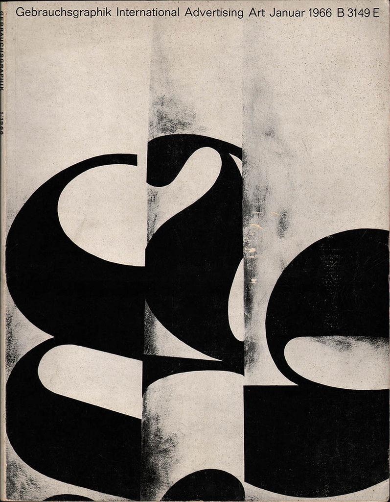 All sizes  Gebrauchsgraphik No. 1 1966  Flickr - Photo Sharing
