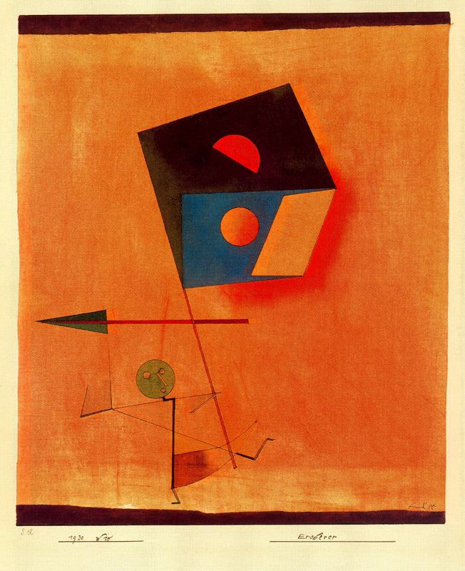 All sizes  Klee, Paul 1879-1940 - 1930 Conquerer Kunstmuseum Bern, Switzerand  Flickr - Photo Sharing
