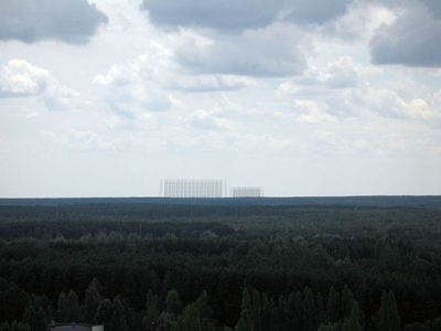"English Russia » ""Duga"", the Steel Giant Near Chernobyl"