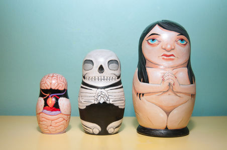 All sizes  Anatomical Nesting Dolls  Flickr - Photo Sharing