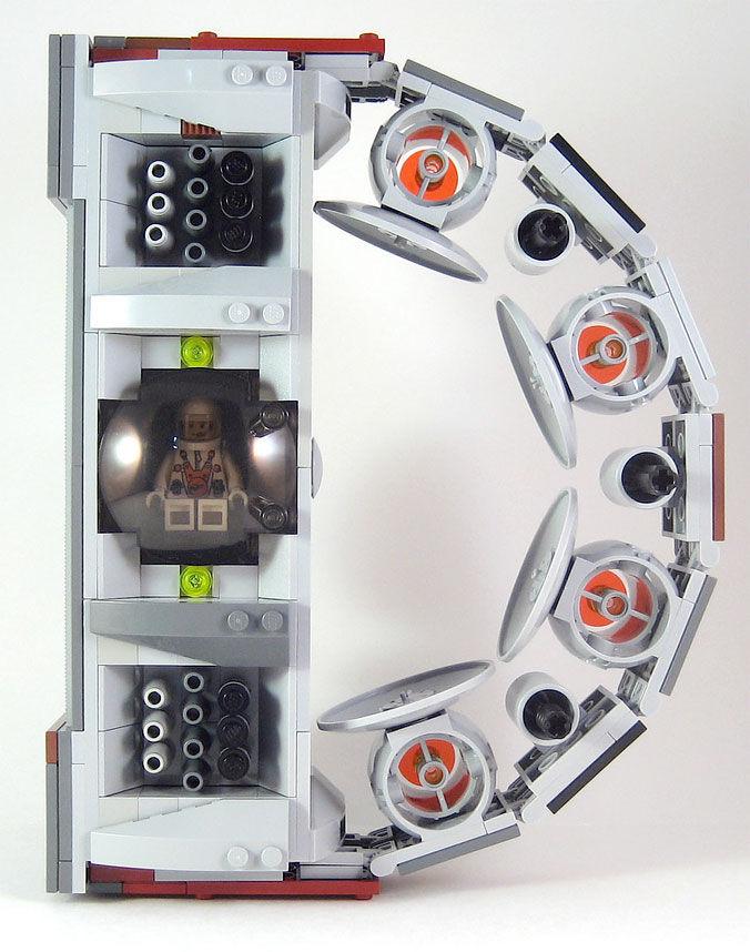 LEGO Alphabet Spaceships — Designaside.com