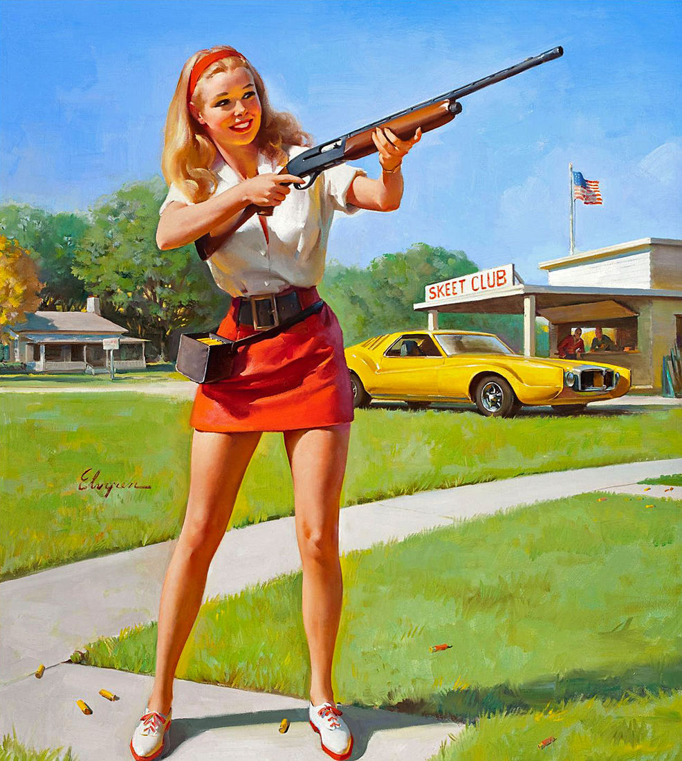All sizes | 1974 ... nice girls have shotguns! | Flickr - Photo Sharing!