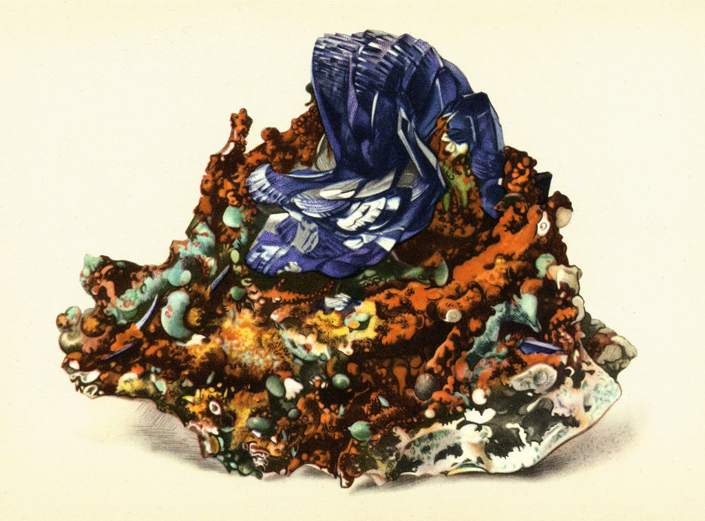 All sizes  Azurite and Malachite  Flickr - Photo Sharing