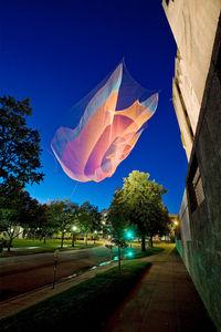Janet Echelman — coreografa del vento — Designaside.com