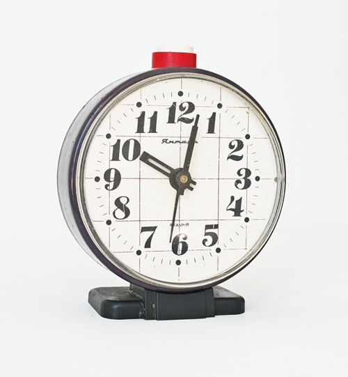 Restored Soviet-Era Alarm Clocks | CMYBacon