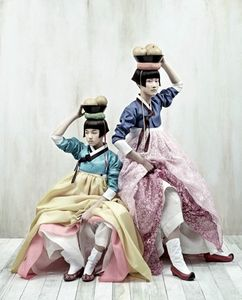 time of the aquarius: Korean Vogue