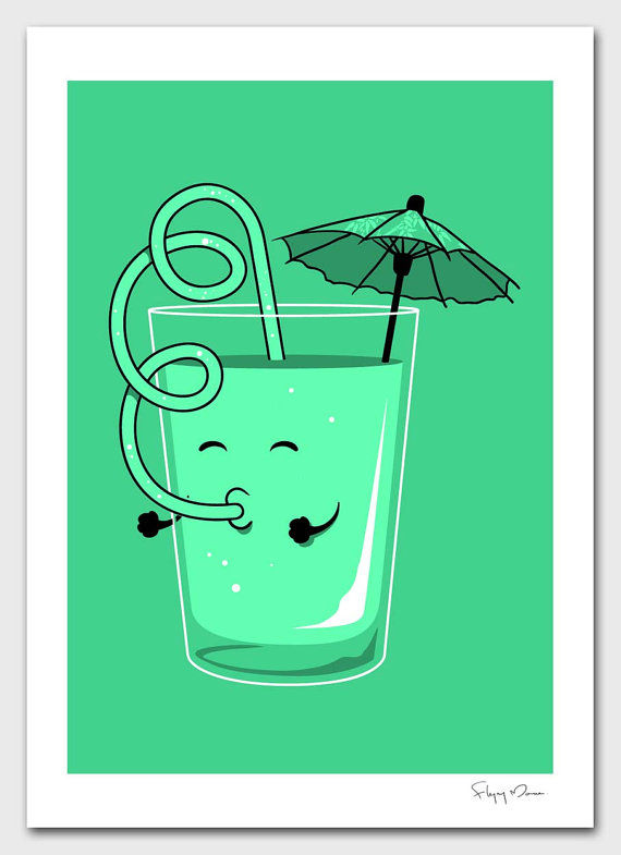 Have A Drink by flyingmouse365 on Etsy