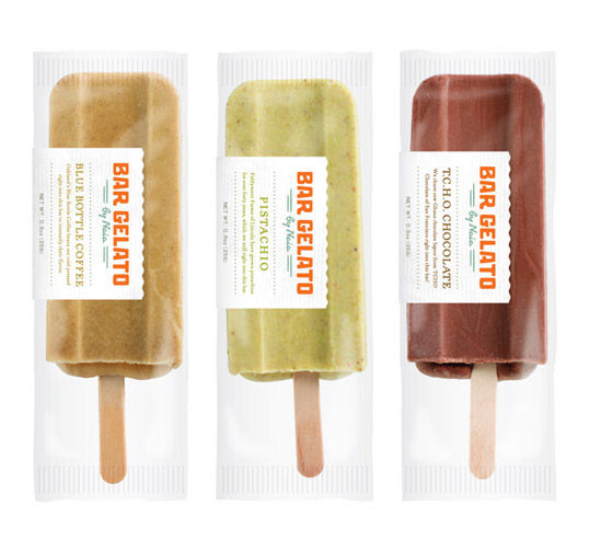 Bar Gelato : Lovely Package . Curating the very best packaging design.