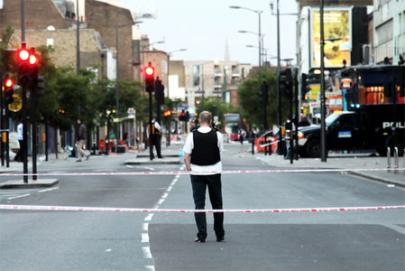 London Riots by Angus Sung | Reciprocity Failure | Loss Through Overexposure |