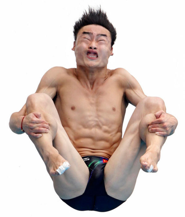 Faces of Olympic Diving | Henry PQ