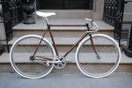 Hand Painted Woodgrain Bikes