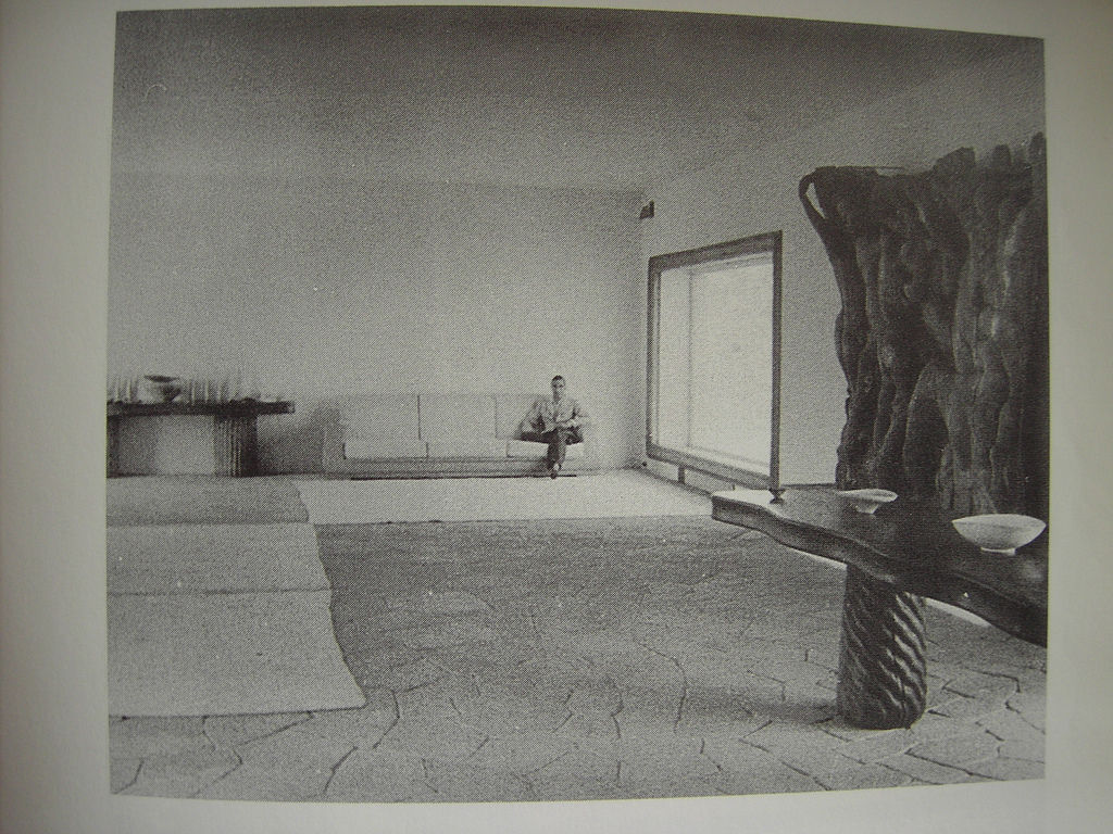 Flickr Photo Download: Casa Malaparte Interior