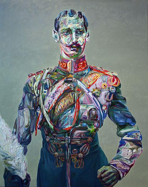 "Aaron Smith ""Zhooshy"", 2011, oil on panel, 60"" x 48""   Flickr : partage de photos !"