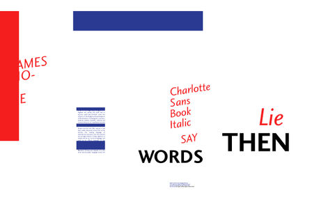 Fonts - Charlotte Sans by Letraset - YouWorkForThem