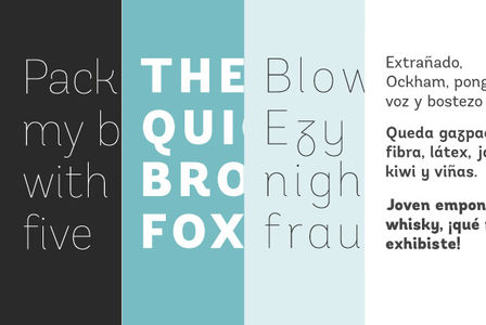 Fonts - Andes by LatinoType - YouWorkForThem