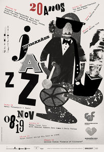 GUIMARÃES JAZZ 2011 POSTERS on the Behance Network