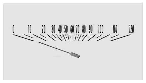 Chevrolet speedometer design