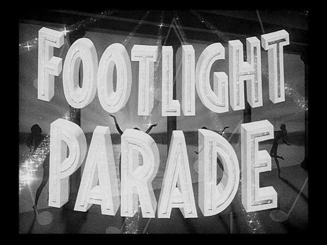 Warner Bros. trailer typography 1930-1934