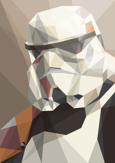 Trooper Art Print by Liam Brazier  Society6