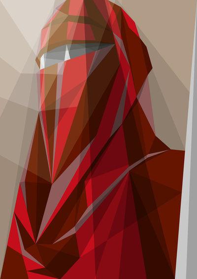 Guard Art Print by Liam Brazier | Society6