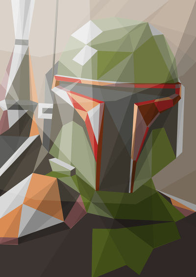 Bounty hunter Art Print by Liam Brazier | Society6