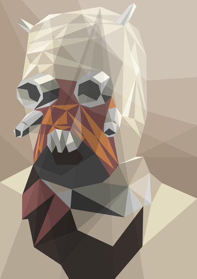 Raider Art Print by Liam Brazier | Society6
