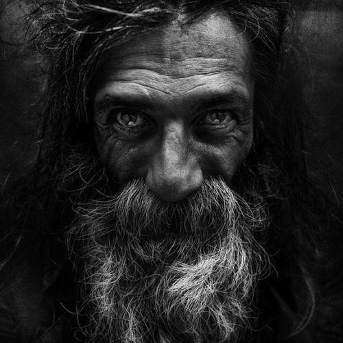 Haunting Portraits Of The Homeless - DesignTAXI.com