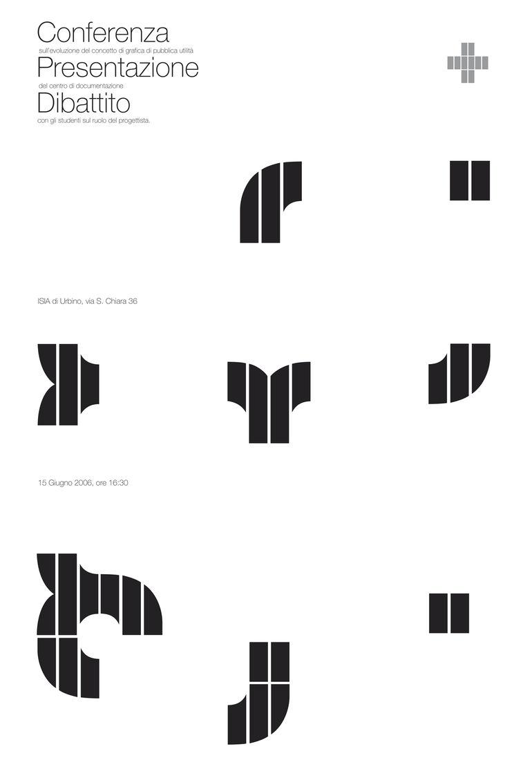 typo graphic posters