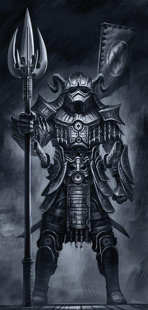 Artist Reimagines 'Star Wars' Characters As Samurai - DesignTAXI.com