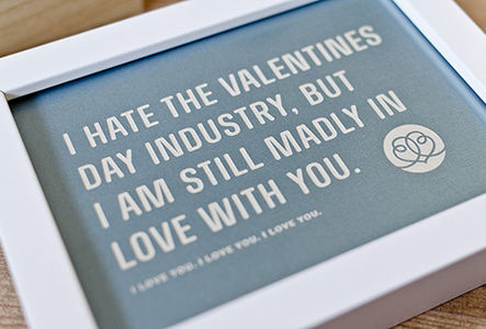 stellavie  design manufaktur    Artwork: I am still madly in love with you.
