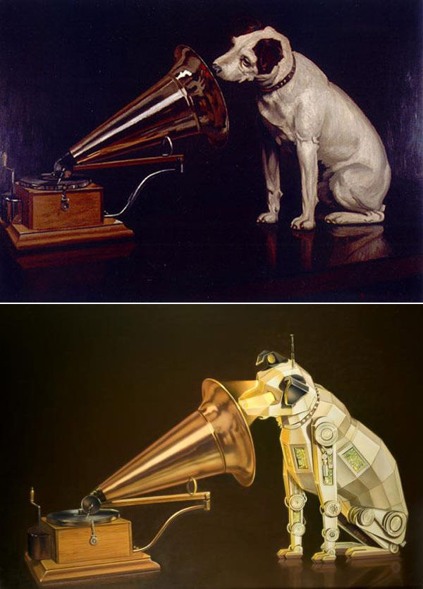 Flavorwire » Famous Works of Art Re-Imagined Through a Sci-Fi Lens