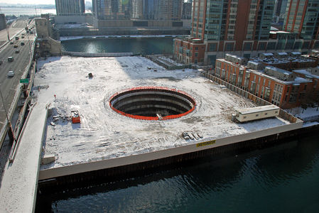 Flickr Photo Download: Chicago Spire - December 2, 2008