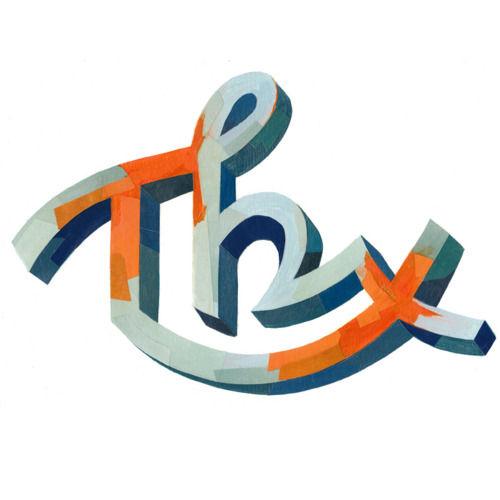 "Typeverything.com - ""Thx"" by Darren Booth - Typeverything"