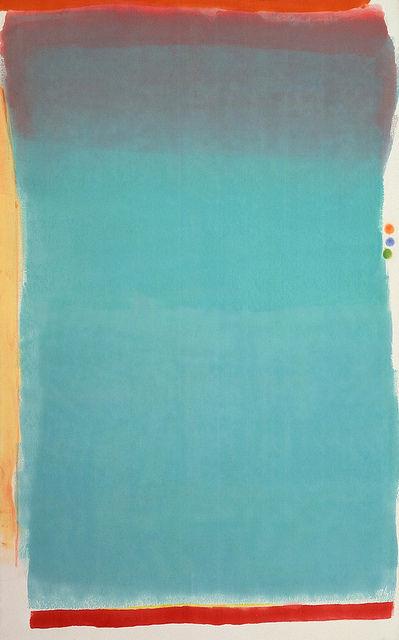 Olitsky, Jules (1922-2007) - 1964 Tin Lizzy (Museum of Fine Arts, Boston, USA) | Flickr - Photo Sharing!