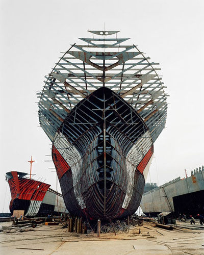 Edward Burtynsky China - Shipyards Large Page 7